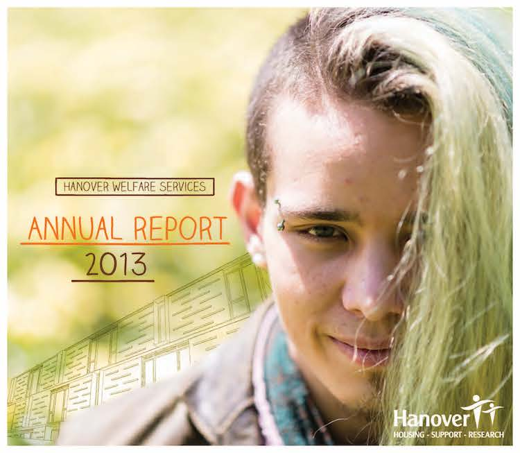 Hanover Welfare Services Annual Report 2013