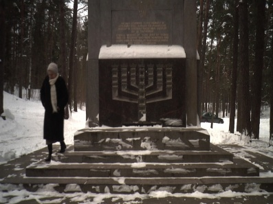 Holocaust memorial at Ponar forest, Lithuania
