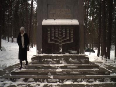 Holocaust memorial at Ponar forest, Lithuania